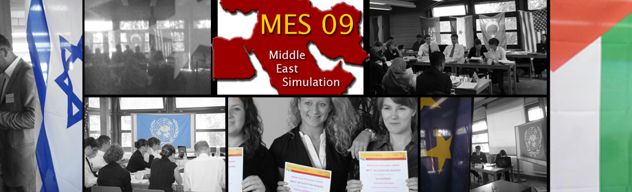 Middle East Simulation 2009 logo